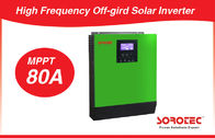 China 1-5KVA 80A Off-Grid Solar Inverter with MPPT Solar Charge Controller company
