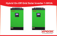 China 1000 - 5000va Grid Tie Power Inverter , Off Grid Solar Power System with PWM Solar Charge Controller factory