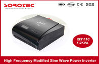 220VAC 50HZ High Frequency Power Inverters With LCD / LED Display , Visual Alarm