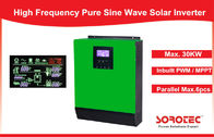 1Ph in / 1Ph Out Solar Power Inverters System high power With Heat Sink , 1- 5KVA Capacity