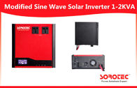 230VAC Solar Power Inverters , DC / AC sine wave power inverter with 40A PWM Charger
