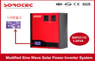 1-2KVA Solar Power Inverter System Built-in PWM Solar Charge Controller