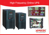 1Ph in / 1Ph out online High Frequency Ups with Large LCD display , RS232 / SNMP / USB Optional