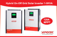 Pure Sine Wave On / Off Grid Solar Power Inverters 1KW - 5KW with LCD Display supplier