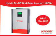 China Hybrid off grid inverter 2KVA 2KW 24V with 80A MPPT Controller company