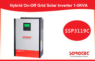 Energy Storage On / Off Grid Inverter / Hybrid Solar Inverter 2kVA 2kw , White Green Color