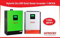 China CE Solar System Inverter / Grid Tied Solar Power Inverters with Battery Pack factory