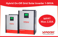 Hybrid On / off grid solar inverter 2kva 2000w with 80A MPPT Controller supplier