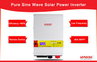 High Quality Output Power Factor 0.9-1.0 6kW 48V Solar Inverters with LCD Display
