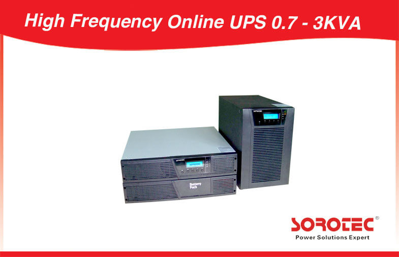 China Computers 3kva Rack Mount Ups Backup Power Supply 0.9 Output Power Factor factory