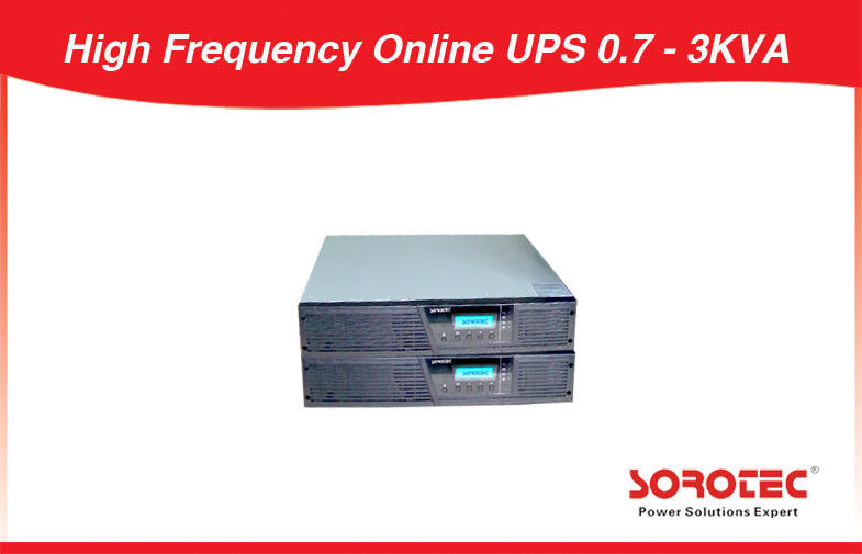 China Nominal  Voltage option Rack Mount UPS , High Frequency Online UPS 0.7 - 3KVA factory