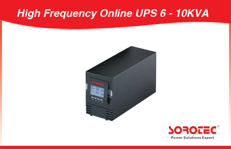 High Frequency Single Phase Online Ups 10Kva With Lcd or Led Display supplier