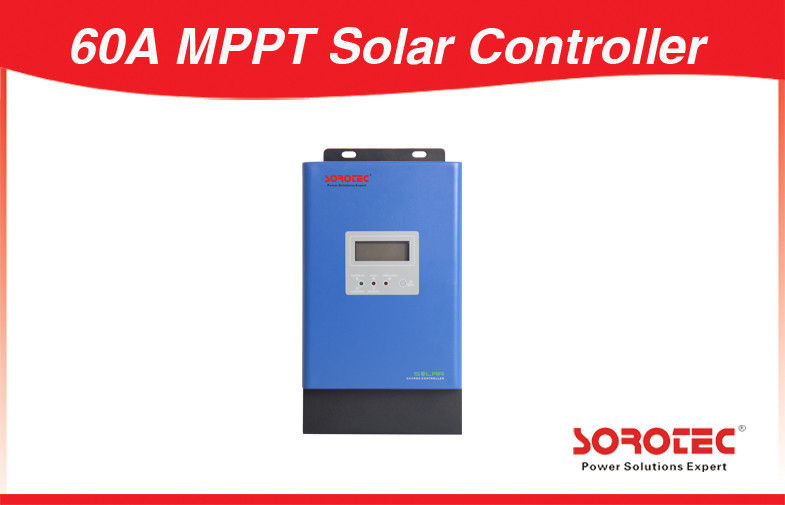 China Max Input PV Voc 150VDC 60A 3000W 12V 48V MPPT Solar Charge Controller factory