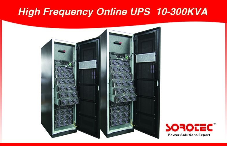 10KVA~800KVA Three Phase Modular UPS High Frequency Online UPS with Monitoring System supplier