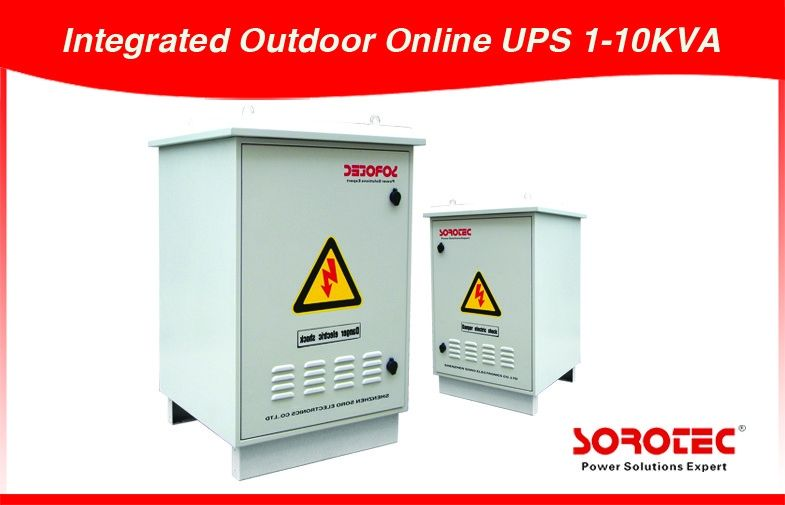 Integrated Outdoor UPS High Power Online UPS Power Supply 1-10KVA for Industry supplier