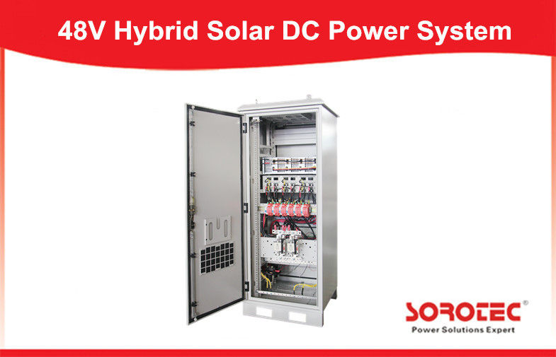 50A Hybrid Solar Power System 48V DC Power Supply with hot swappable module structure,Remote Monitoring System Interface supplier