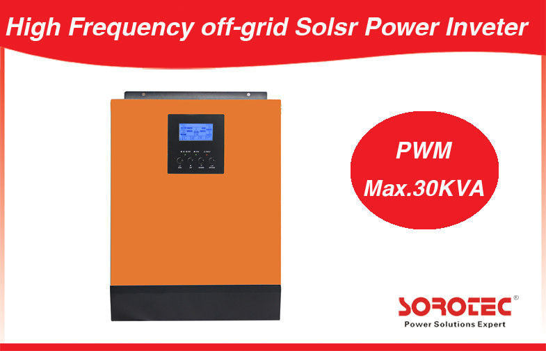 China 4KVA 3200W Hybrid Off Grid Solar Power Inverters Built-in 48V MPPT Solar Charge Controller factory