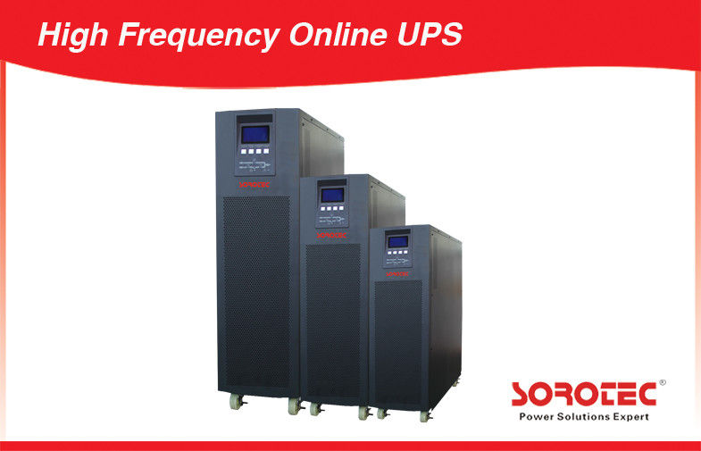China Transformerless High Frequency Online UPS Power Supply 10KVA - 30KVA factory