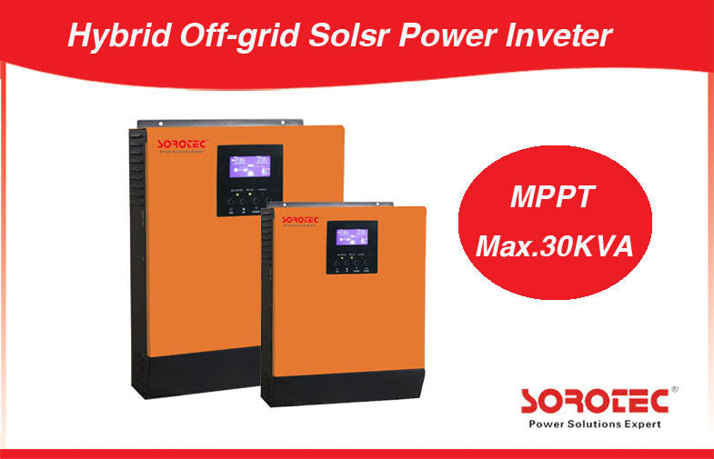 1KVA High Frequency Pure Sine Wave DC / AC Solar Power