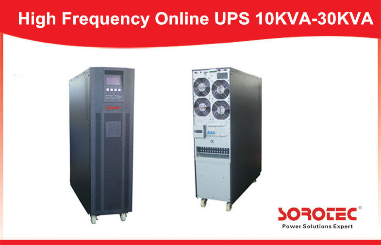 China 20K 18KW 50HZ 230VAC small ups power supply , uninterrupted power supplies High Performance factory