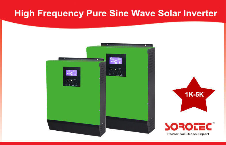 China 3KVA - 5KVA Off Grid Solar Power Inverters , 220v High Frequency household inverter factory