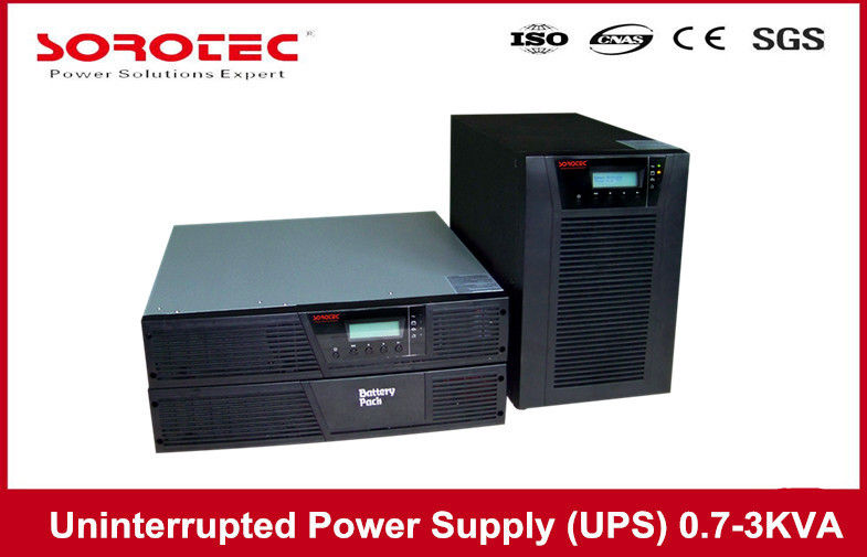 Rack Tower Uninterruptible Power Supply Ups 2KVA 1.8KW for Personal Computer supplier