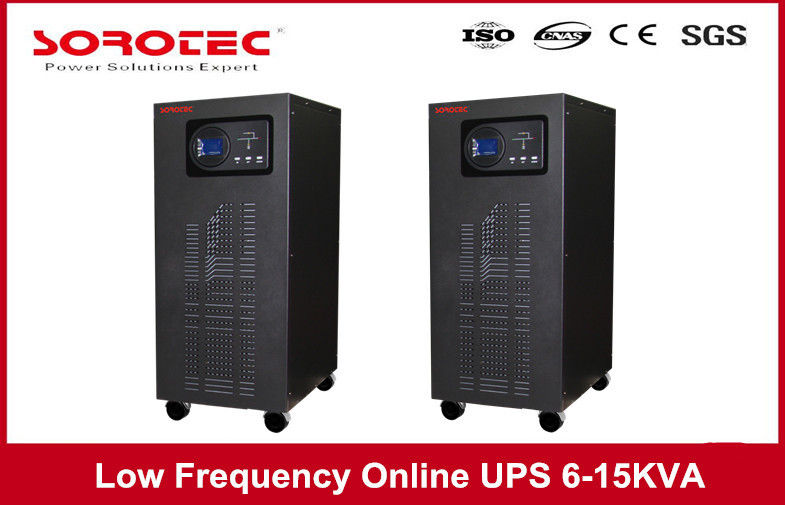 50/60HZ Frequency Low Frequency Online UPS Switch For Bank Mini Office System , 6 - 15 KVA supplier
