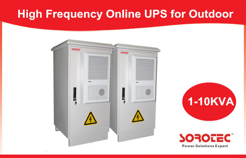 Outdoor Integrated UPS / Online UPS for Telecom / Network , 50/60HZ Frequency supplier