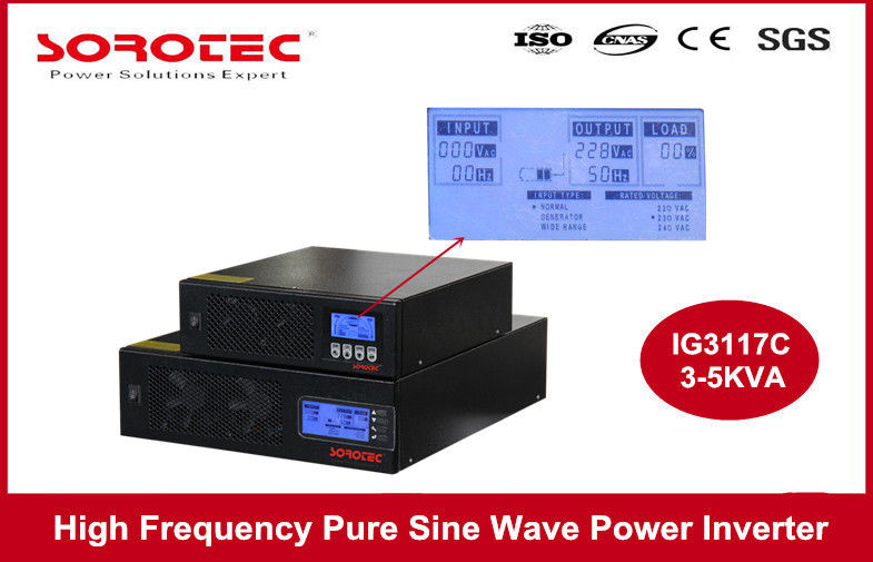 China High Frequency Solar Power Inverters / Solar Energy Inverter with CE Certifications factory