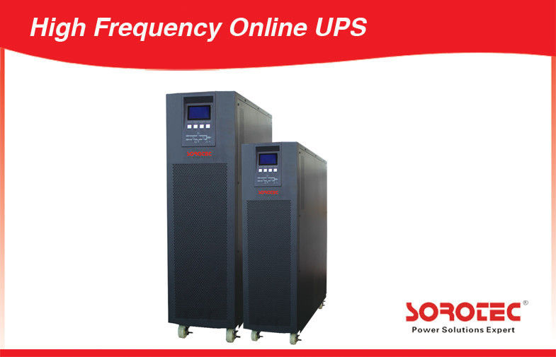 China 10-30kva High Frequency UPS , 3 Phase Uninterrupted Power Supply with 0.9 Output PF factory