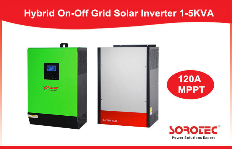 3Kw On/Off Grid High Frequency Solar Inverter 4000W Dc-Ac Pure Sine Wave Inverter supplier