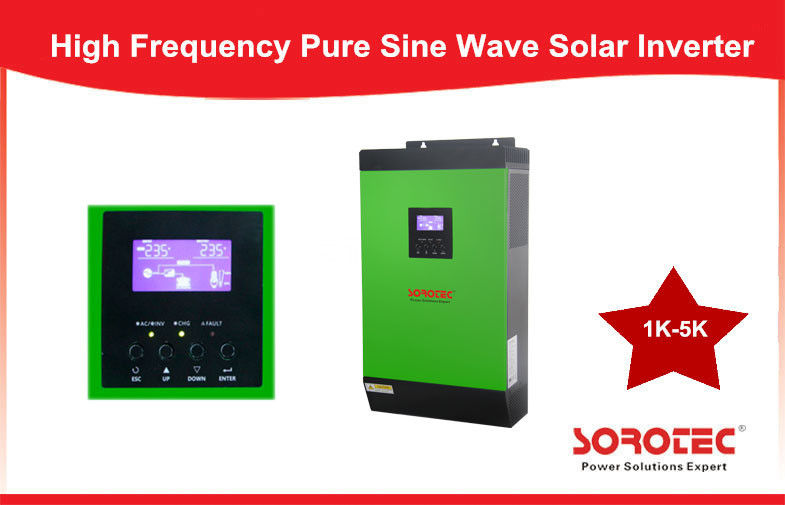 Wall Mounted Integrated Pure Sine Wave 1-5KVA Solar Power Inverters supplier