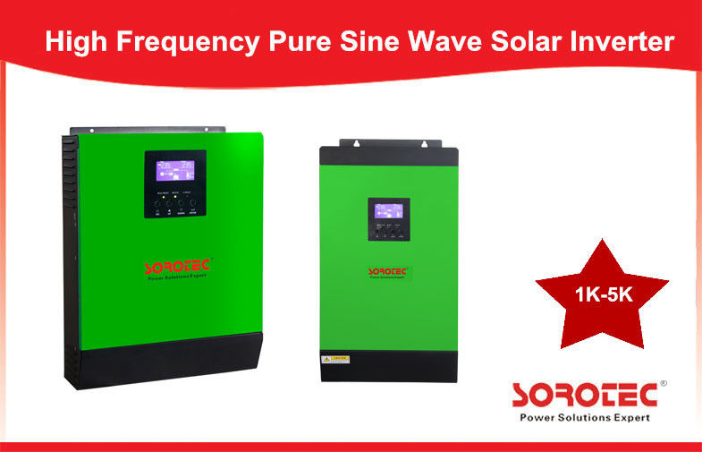 China 1-5KVA Pure Sine Wave Wall Mounted solar based inverter / solar energy inverter factory