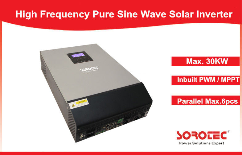 China Multi Function 220V / 230VAC Solar Energy Inverter Pure Sine Wave Inverte SSP3118C factory