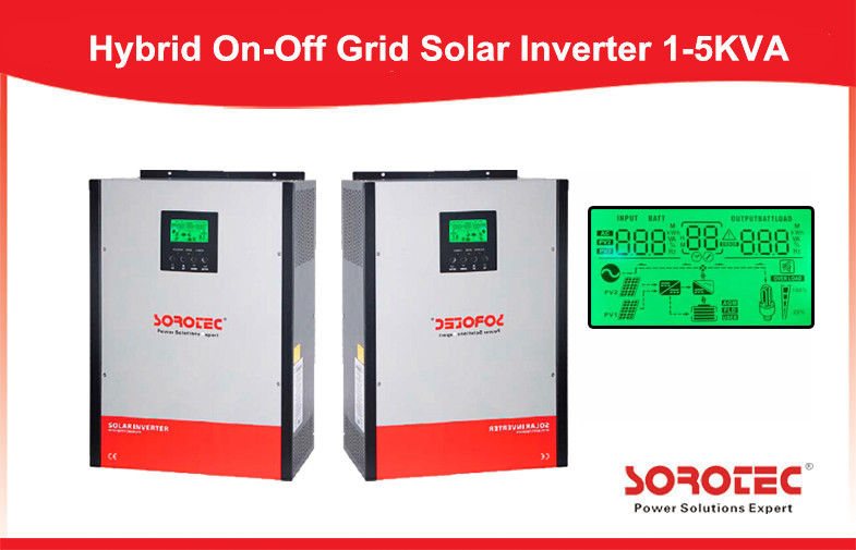 China Multiple operation modes Solar Panel Inverter built - in MPPT solar controller factory