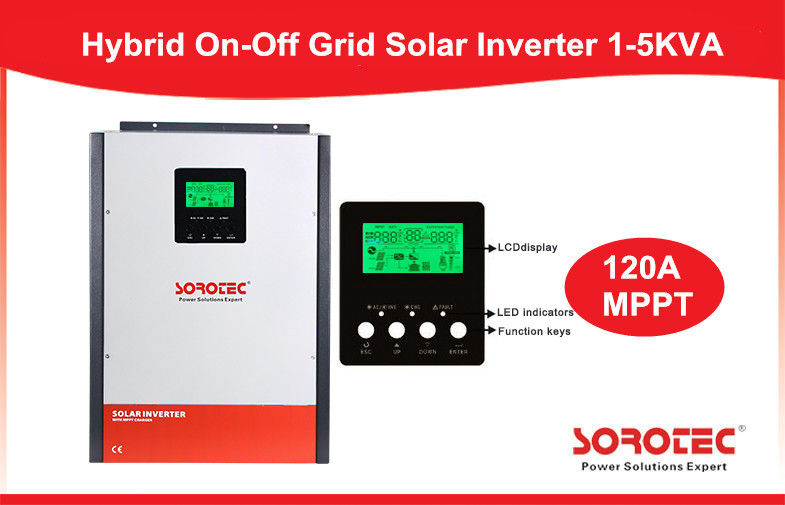 China High Frequency Wall Mounted Solar Energy Inverter with MPPT Solar Controller factory