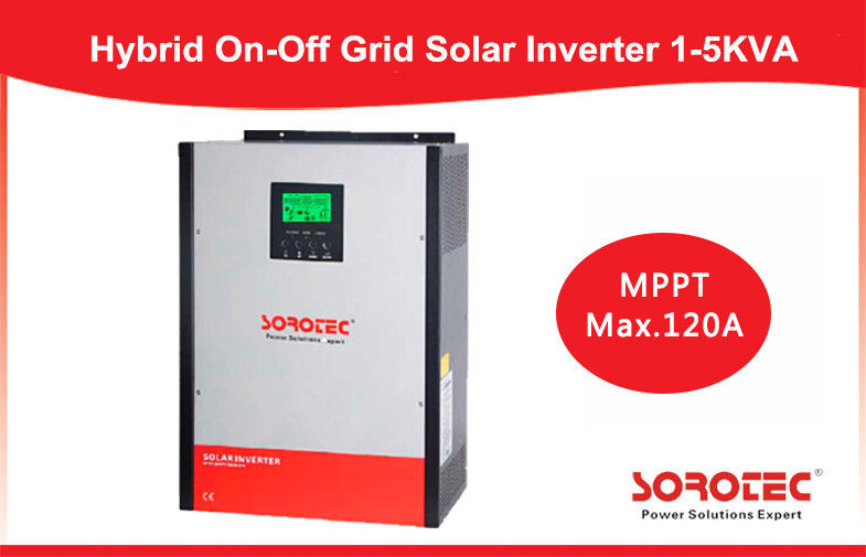 China High power On Grid Hybrid Solar Power Inverters Max 120A MPPT Controller factory
