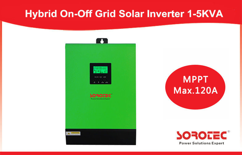 China On / off Grid Hybrid solar energy inverter 4kva 4000w with 80A MPPT Controller factory