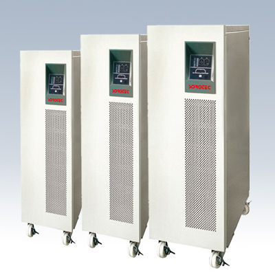 China Pure Sine Wave Single, 3 Phase Double Conversion High Frequency True Online UPS 6 - 10 KVA factory