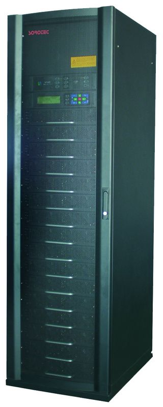 50HZ 3 / 3 Modular UPS with History log and Work state display alarm for traffic systems supplier