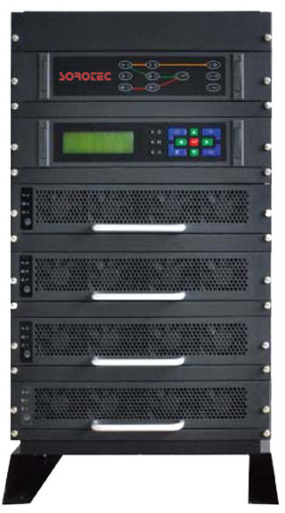 THDI input online 415V 3 phase 5KVA, 10KVA, 15KVA Modular UPS system with redundancy supplier