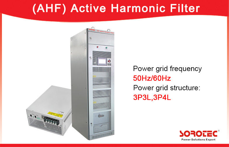 China 400V 50Hz 50A Active Harmonic Filter PF 0.99 with 20kHz Switching Frequency factory