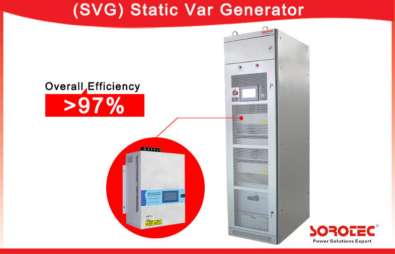 China 50/60Hz Three phase Balance Static Var Generator SVG with Compact Module Design factory
