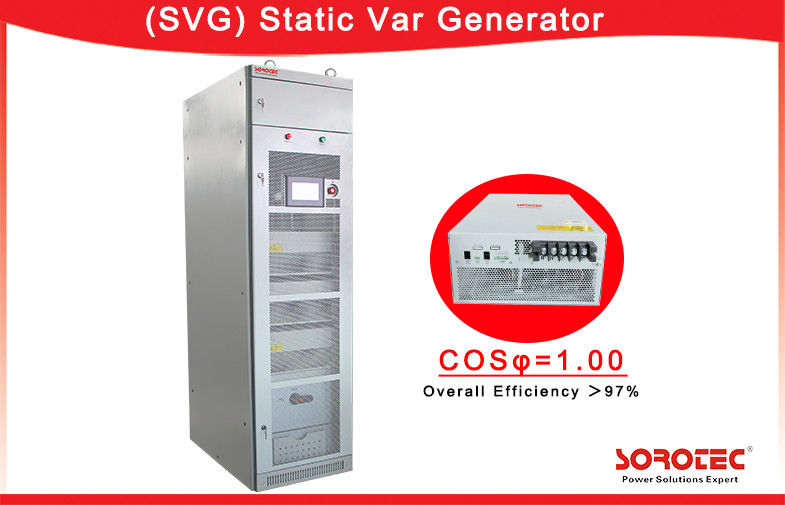30kvar / 50kvar / 100kvar 50/60Hz static compensator Three Phase Three Wire SVG supplier