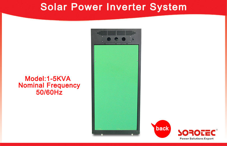 1KVA / 800W Off Grid Solar Power Systems , Pure Sine Wave Output Wave Form Solar Power Inverters supplier