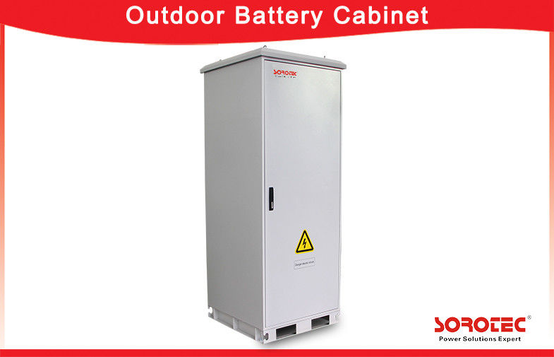 China Energy Storage Outdoor Battery Cabinet with Heat Exchanger , CE passed factory
