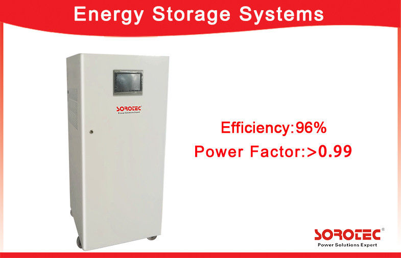 China 500VDC max All In One Energy Storage Systems With Touch Screen Display factory