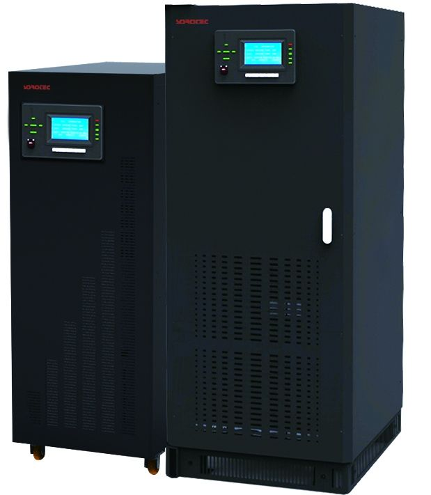 DSP control 3 phase 60Hz Low Frequency Online UPS GP9330C Series 10 - 200KVA 3Ph in / out supplier