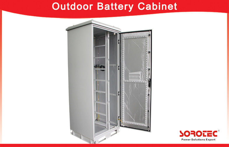 China High Efficiency Outdoor Battery Cabinets with Protection Degree IP55 factory