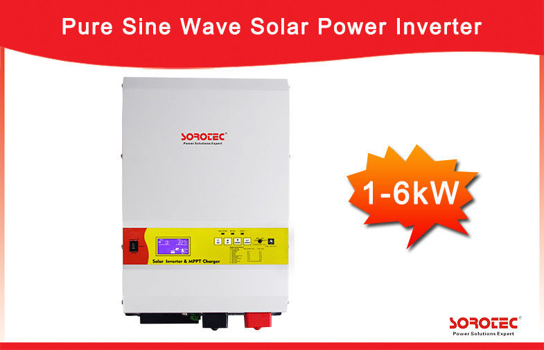 Pure Sine Wave 24V/48V Solar Power Inverter Built-in MPPT Solar Charge Controller supplier